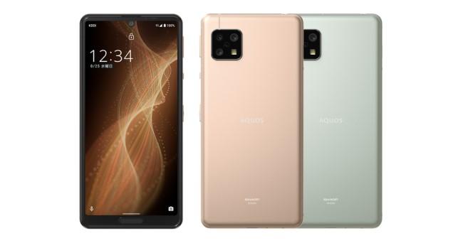 シャープ、格安SIMのUQ mobile向け5Gスマートフォン「AQUOS sense5G 」を販売開始