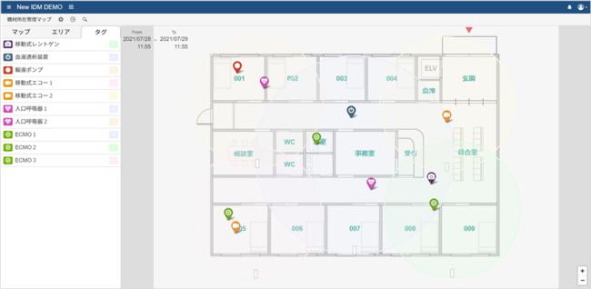 可視化ツール画面例