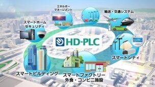 有線通信の速度を高速化するIoTソリューション HD-PLC