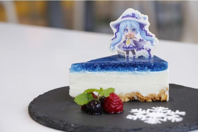 雪ミクカラーチーズケーキ(★)<700円>