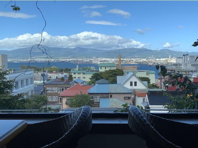 函館サテライトオフィスからの眺望